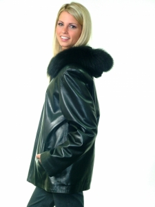 BLACK DIAMOND LEATHER JACKET