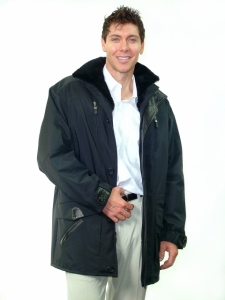 BLACK HYDRA NYLON JACKET