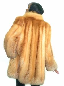RED FOX STROLLER COAT
