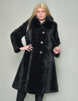 BROWN CHINESE MINK COAT